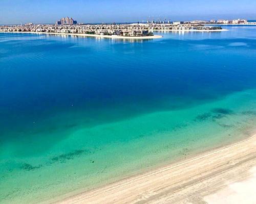Superdeluxe Penthouse mit Pool auf der Dachterrasse in Dubai - Palm Jumeirah