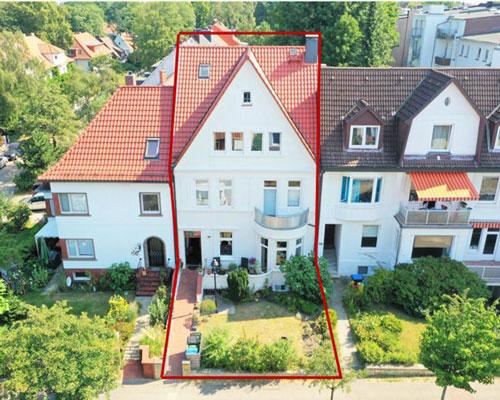 Charmante Stadt Villa in bevorzugter Lage Heimfeld - Hamburg-Harburg