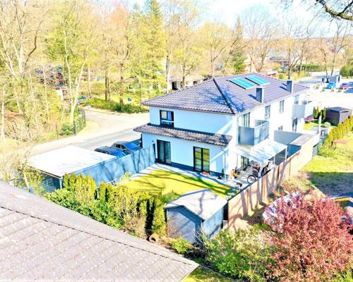 Doppelhaushälfte in Lüneburg - Zeltberg-