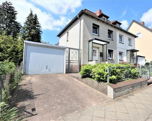 Doppelhaushälfte in Lüneburg - Zeltberg